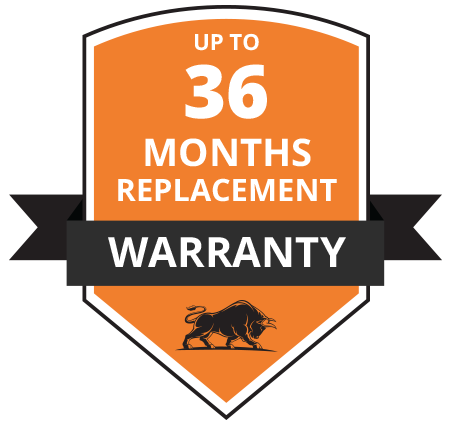 36 Months Replacement Warranty