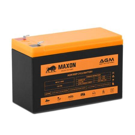 Maxon AGM deep cycle MX12-7.0HD