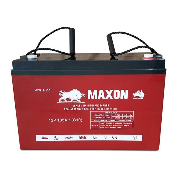 Maxon Power Deep Cycle MXG12-135