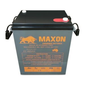 Maxon Power Deep Cycle MXEG6-465