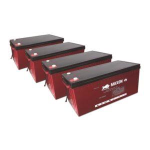 Maxon Battery Bank-220-4X