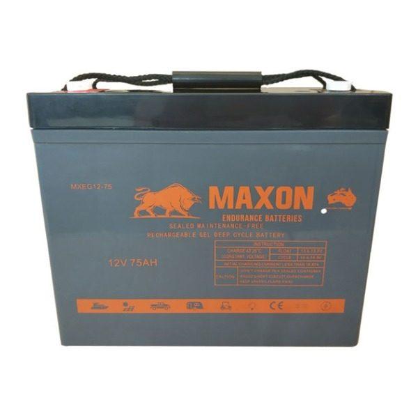 Maxon Power Deep Cycle MXEG12-75