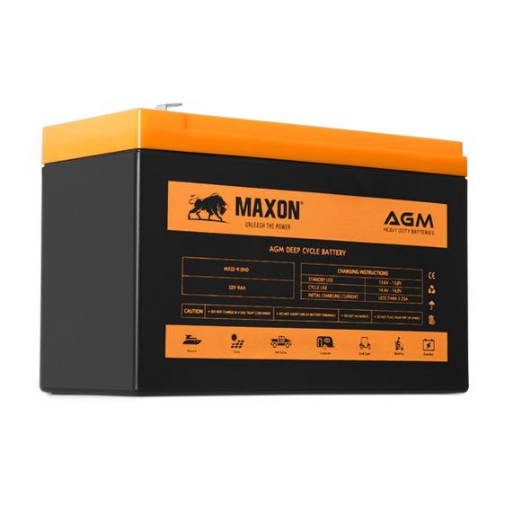 Maxon AGM deep cycle MX12-9.0HD