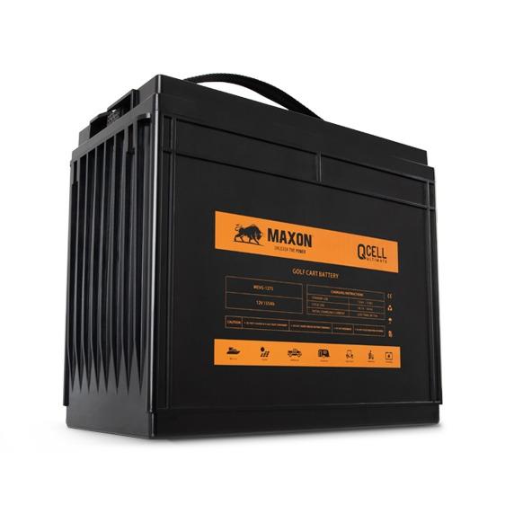Maxon QCELL golf cart battery MEVG-1275