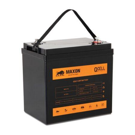 Maxon QCELL golf-cart battery MEVG-105