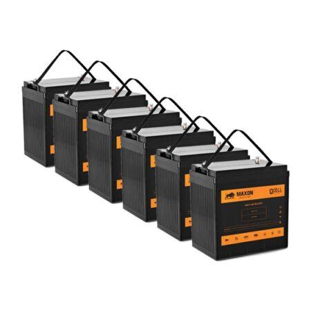 Maxon QCELL golfcart battery MEVG-875x6