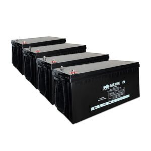BBMXEG12-300-4X-24 7.20kW 24V 300Ah. Maxon Battery Bank