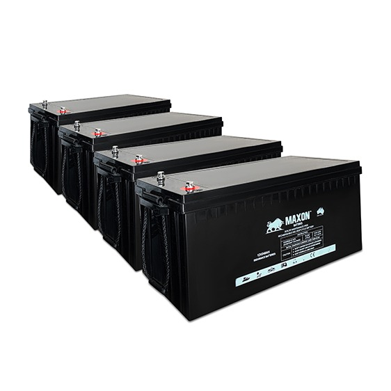 BBMXEG12-300-4X-24 7.20kW 24V 300Ah. Maxon Battery Bank