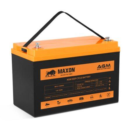 Maxon AGM Heavy Duty Battery MX12-135XHD