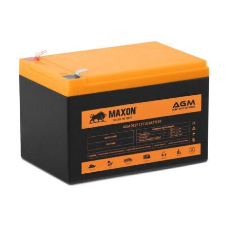 Maxon AGM heavy duty battery MX12-14HD