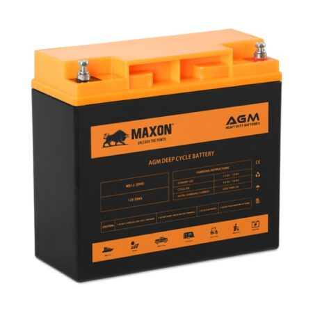 Maxon AGM Heavy Duty Battery MX12-20HD