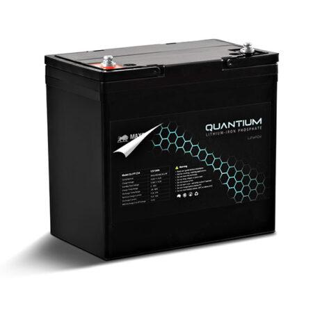 Quantium LFP 12V 54A Lithium Iron Battery - LiFePO4 Deep Cycle Q-LFP1254