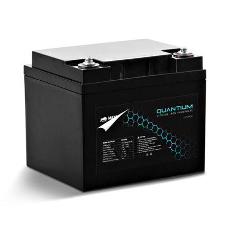Quantium LFP 12V 42Ah Lithium Iron Battery LiFePO4 Deep Cycle Q-LFP1242