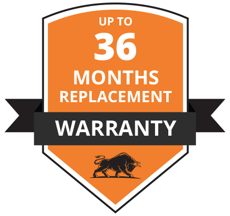 36-Months Replacement Warranty