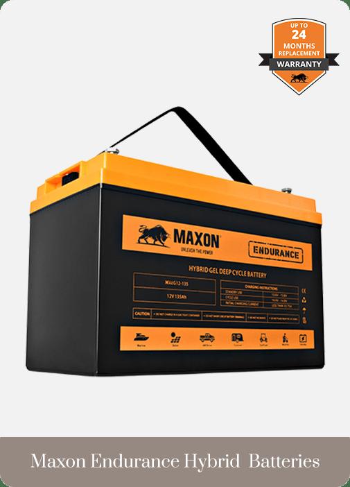 Batteries Maxon Endurance Hybrid