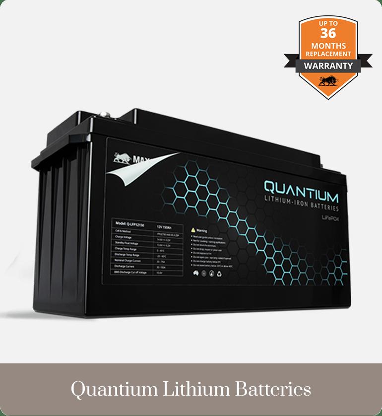Batteries Quantium Lithium