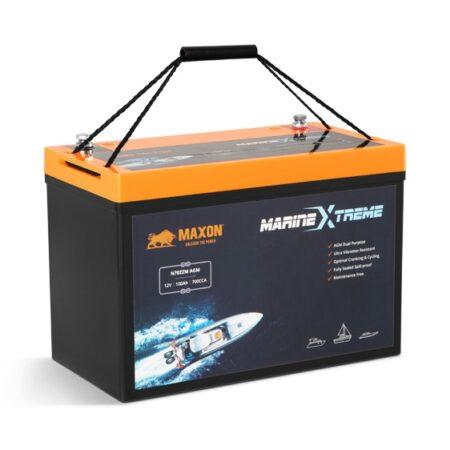 Maxon Xtreme Dual Purpose Marine Carbon AGM Battery N70ZZM AGM