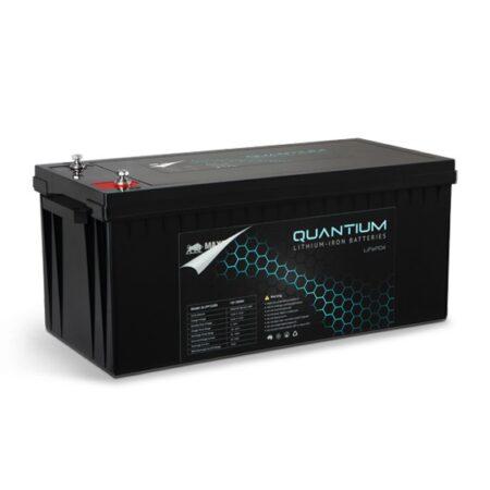 Quantium LFP 12V 200Ah Lithium Iron Battery - LiFePO4 Deep Cycle Q-LFP12200
