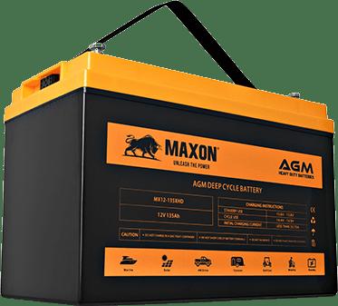 Maxon AGM Heavy Duty Batteries