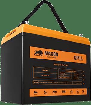 Maxon QCELL Carbon Gel Batteries