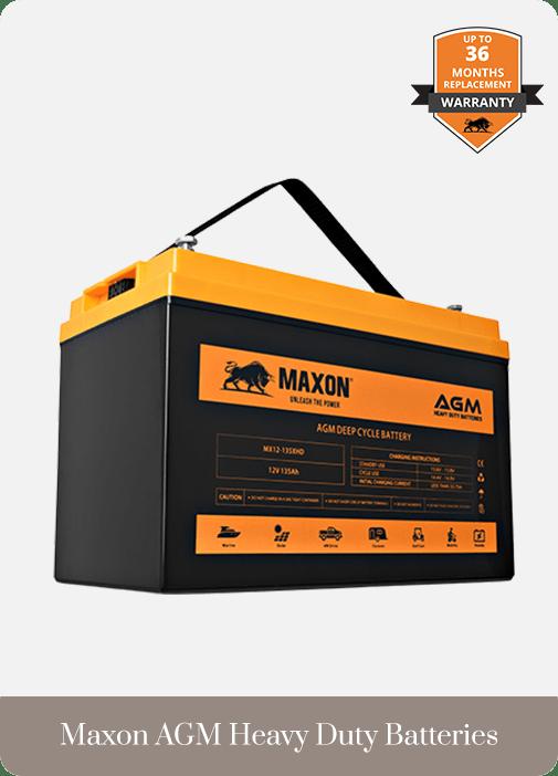 Batteries Maxon AGM Heavy Duty