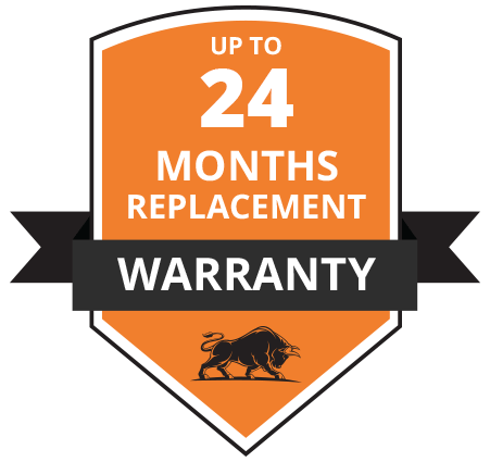 24 Months Replacement Warranty